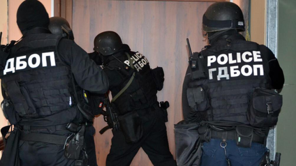 Акция на Специализираната прокуратура, ГДБОП, ДАНС и местното полицейско управление