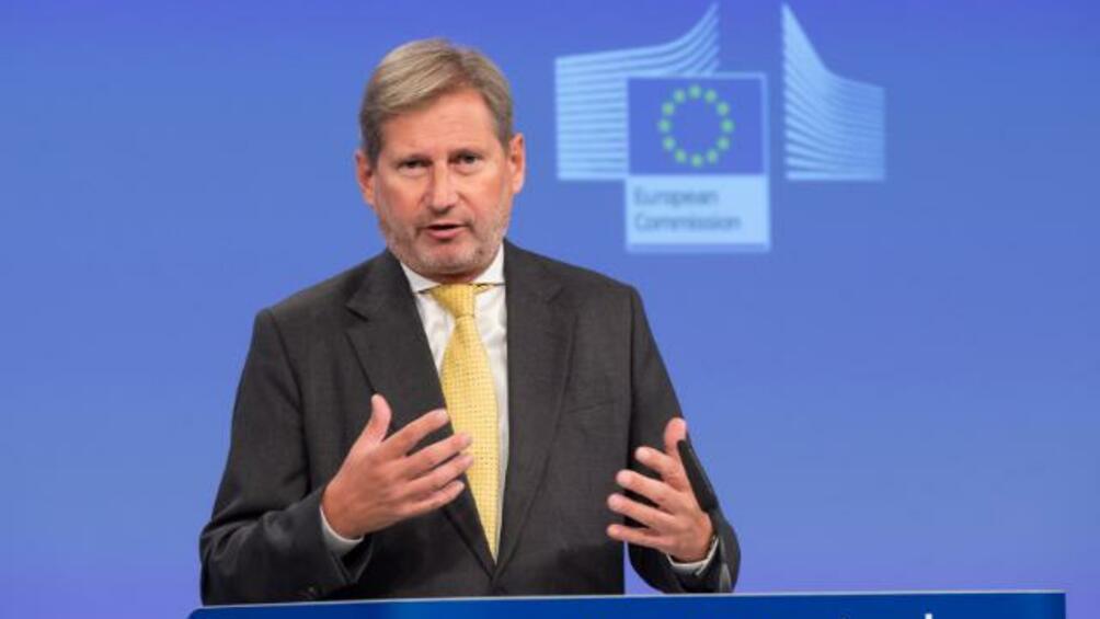 Еврокомисарят по разширяването Йоханес Хан изрази оптимизма си, че до