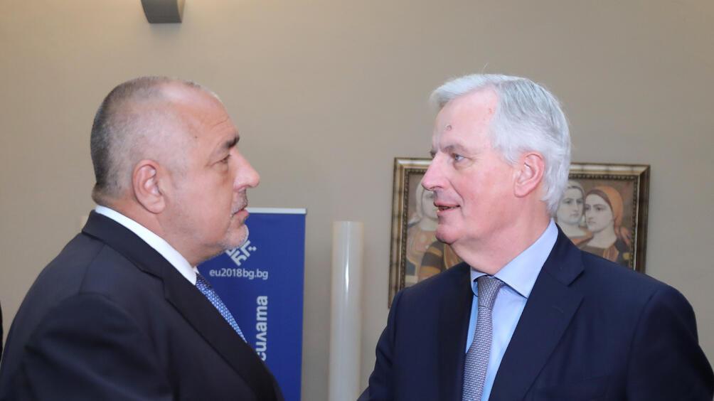 Главният преговарящ от името на ЕС за Брекзит Мишел Барние