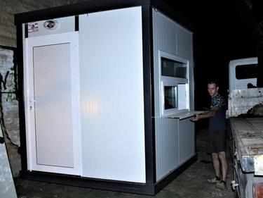 Поставиха кабина за охраната на Бузлуджа