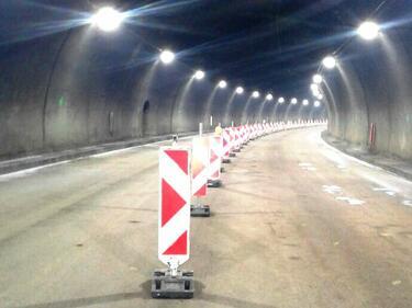 """Затварят частично тунел """"Витиня"""" тази нощ"""