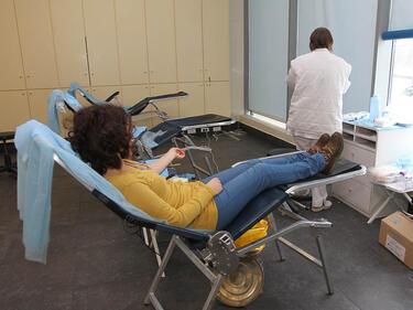 Завърши пролетната кръводарителска кампания