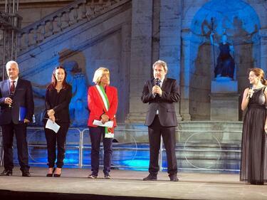 БГ светлинно шоу озари общината в Рим