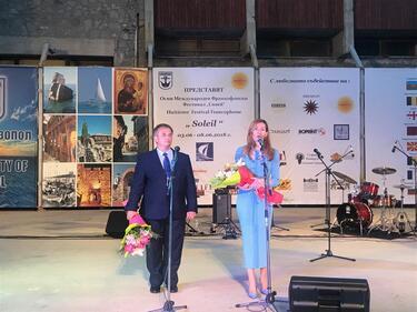 Министър Ангелкова на старта на лятото в Созопол: