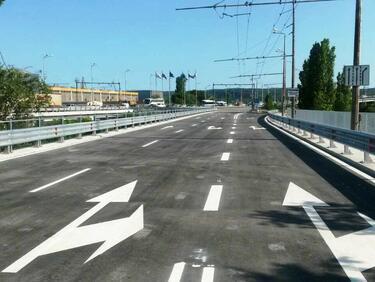 Завършват предсрочно разширението на два части от пътя Бургас-Слънчев бряг