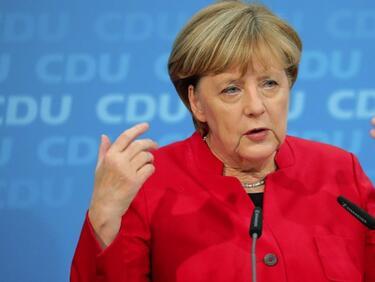 Меркел настоява ЕС да вземе общо решение за бежанците