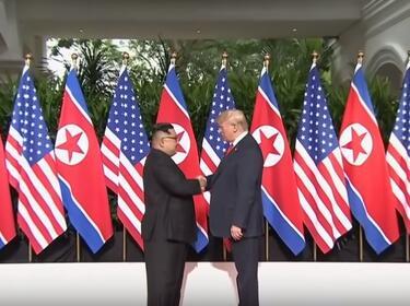 Тръмп хвали резултата от срещата си с Ким