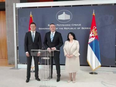 Сътрудничим си с Унгария и  Сърбия в газовия сектор