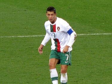 CR7 сгази Мароко