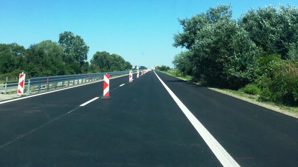 Катастрофа блокира движението в района на 230 километър на АМ