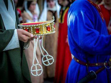 """Със """"Сватбите на Иван Асен II"""" започва средновековния фестивал на Царевец"""