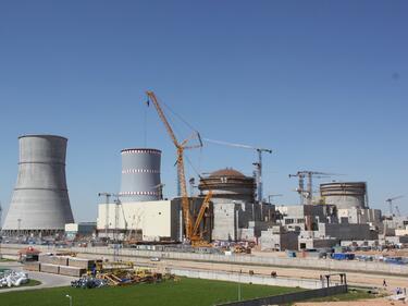 Приключи пореден етап от изграждането на Беларуската АЕЦ