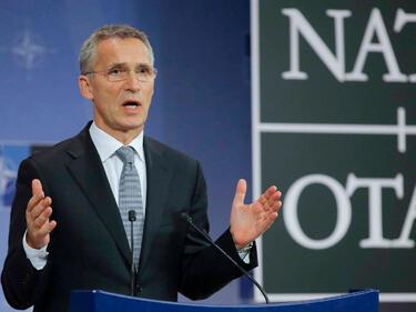 Столтенберг съгласен с Тръмп държавите от НАТО да харчат повече за отбрана