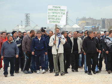 Мирен протест срещу умъртвяването на овце и кози заради чума в с. Шарково