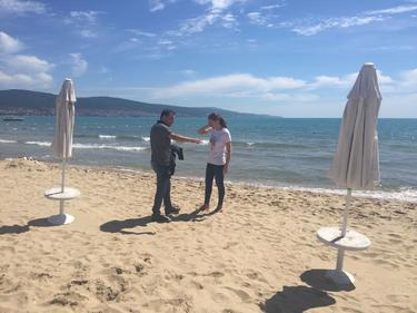 "Три ведомства на инспекция на плажа в ""Слънчев бряг"""