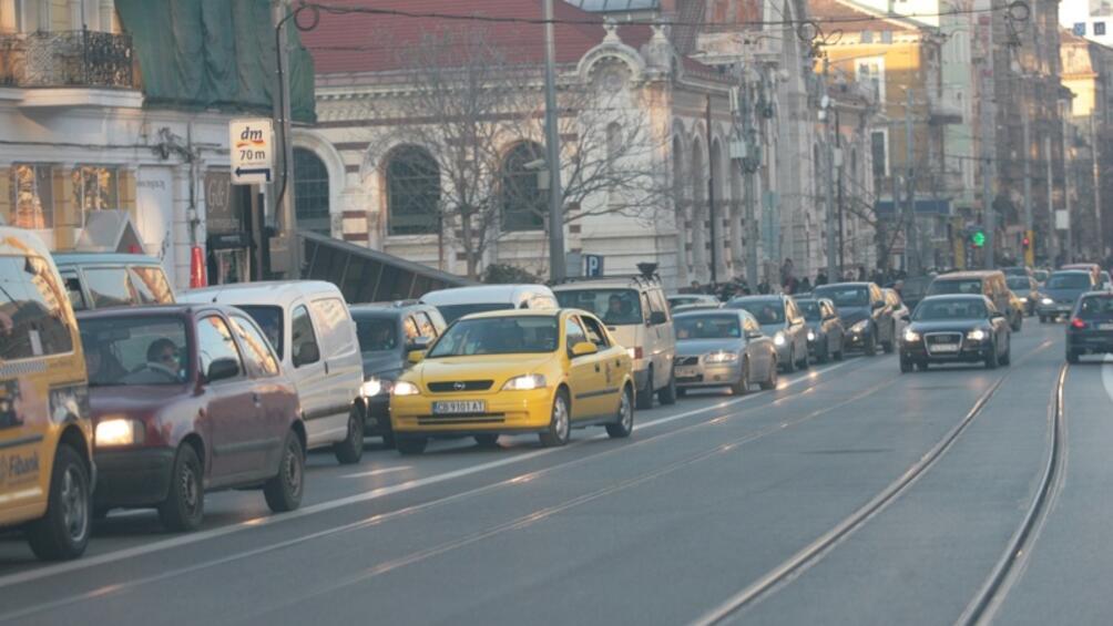Снимка: Организация на движението в столицата утре
