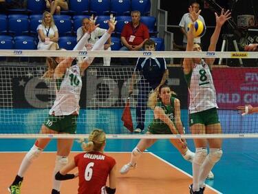 Волейболните ни национали с демо мач в София