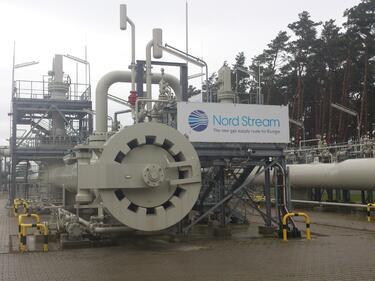"""Строежът на """"Северен поток-2"""" започнал още миналия месец"""