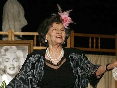 Стоянка Мутафова ще отбележи 70 години на сцена със специален спектакъл