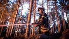 Овладяха пожара в гората край Карлово