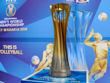 Световната купа по волейбол в София – всеки може да се снима