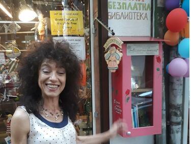 Къщурка-библиокеа предлага безплатно книги в София
