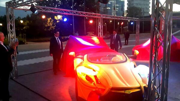 Представиха първия по рода си български електрически автомобил