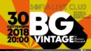 BG Vintage с първи клубен концерт-спектакъл на 30-и септември