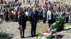 Цветанов поднесе венец пред Пирамидата на Независимостта