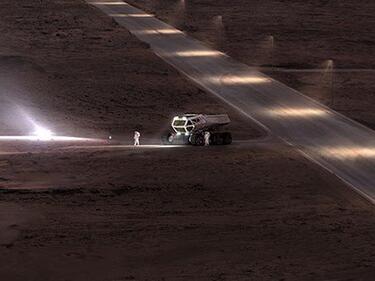 Илон Мъск пусна снимки на марсианската си база