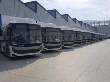 60 нови градски автобуса в София до края на следващата седмица