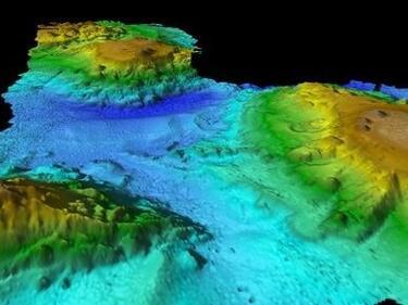 Учени откриха подводни вулкани на 30 млн. г. кай Тасмания