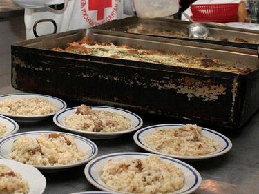 В София БЧК ще раздава храни от ЕС на социално слаби