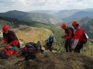 Планински спасители издираха изгубени туристи