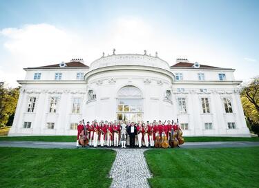 Strauss Capelle Vienna идват в състав от 35 души