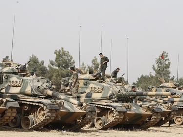 Турция се готви за нова инвазия в Сирия