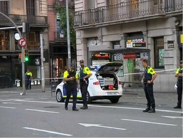 Полицията в Барселона на крак заради предполагаема бомба