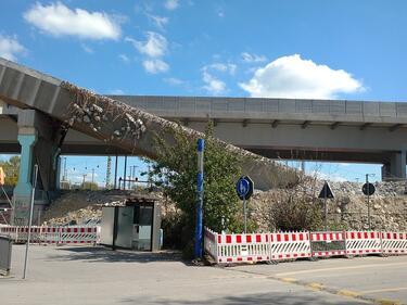 Рухна мост в Кавала