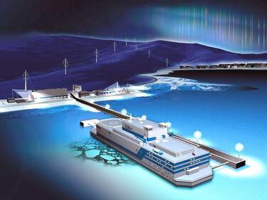 Първи реактор на плаващата АЕЦ достигна 10% енергийна мощност