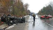 Загинала жена и 7 ранени при катастрофа на Подбалканския път