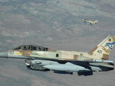 Навръх Коледа Израел удари цели край Дамаск