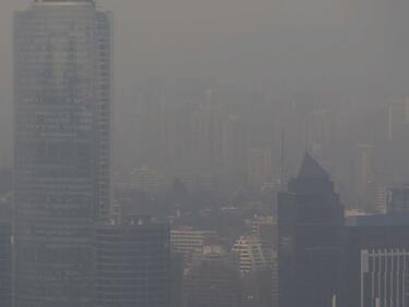 Мръсен въздух в 7 от големите градове