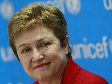 Кристалина Георгиева оглавява временно Световната банка