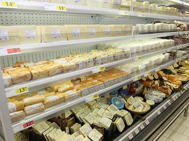 Заради скъпия ток: Цените на млечните продукти с 5-6% нагоре от пролетта