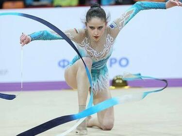 Злато и сребро за наши гимнастички в Лисабон