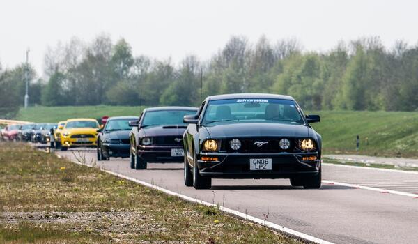 Mustang навърши 55, но не му пречат да е все по-енергичен