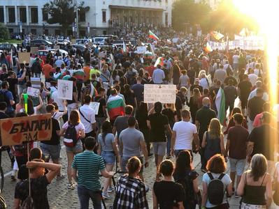 "Протестиращи: ""Цар Освободител"" да се преименува на ул. ""Протестна"""