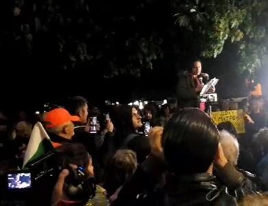 114-ти протест: Демонстранти пред БНТ и блокада на Орлов мост