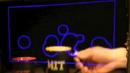 Прозрачен екран става дисплей