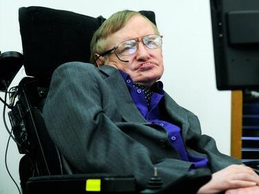 Стивън Хокинг: Човечеството трябва да си търси нова планета за живот